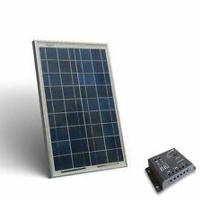 Kit Solare Base 20W 12V Pannello Fotovoltaico Regolatore 5A PWM