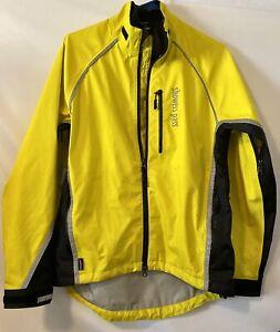 Showers Pass Light Hi-Viz Cycling Riding Commuting Jacket Yellow Medium Women's