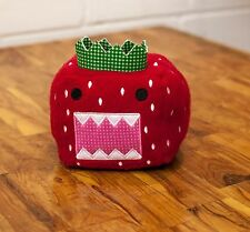 Domo Kun Domo Cartoon 15th Anniversary Strawberry Stuffed Toy Japan