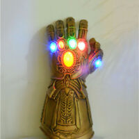 Thanos Infinity War Gauntlet LED Light Glove For Marvel Avengers Cosplay Party