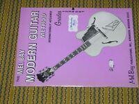Mel Bay Modern Guitar Method Primer 1950 Grade 4  music lessons - RARE and NICE