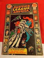 JUSTICE LEAGUE OF AMERICA # 101 JLA & JSA CROSSOVER JUSTICE SOCIETY SEP 1972 DC