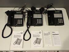 Lot of 3 Lucent Technologies Four Line Intercom Speakerphone 954 Telephones