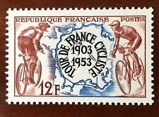 FRANCE 1953 Tour de France 50th Anniversary vf MINT V Light hinged SG 1184 12Fr