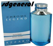 Chrome Legend by Azzaro Men Eau de Toilette Spray 4.2 oz 125 ml