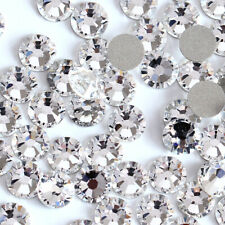 Swarovski Crystals flat back non hotfix rhinestone for nail art and design 30pcs