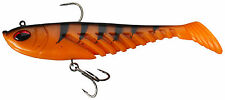 Berkley PowerBait PRERIGGED Giant Ripple Shad 16cm / 20cm Pike Predator Lure 16 Cm Orange Black