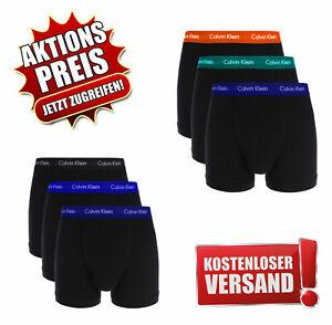 Calin Klein Herren Boxershorts 3er Pack Low Rise Trunks   NEU