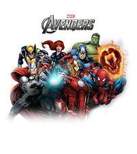Avengers Custom Tshirt Personalize birthday party gift Hulk spiderman wolverine