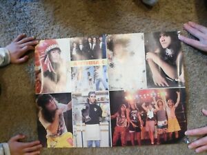 CRO MAGS ANTHRAX MAGAZINE POSTER 15X21 HARDCORE NYHC PUNK THRASH 2 SIDED INDIANS