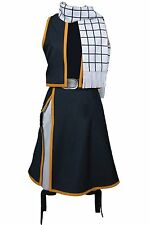 Fairy Tail Natsu Dragneel Uniform Outfit Cosplay Costume