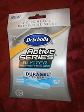 DR SCHOLLS ACTIVE SERIES BLISTER TREATMENT CUSHIONS
