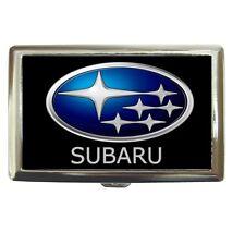 SUBARU Cigarette Case Credit Card Holder # 85100607