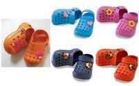 Ciabatte Estive stile Bambino 3-5 anni Bambina Pantofole Casa Mare italia nuovo