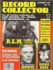 RECORD COLLECTOR Flaming Lips DAVID BOWIE Runrig NIRVANA U.K. Diana Ross R.E.M.