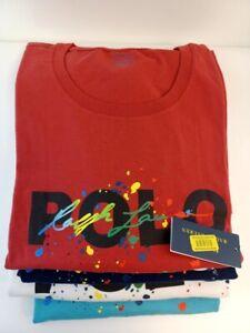 NWT Men's Polo Ralph Lauren Big Logo Classics Short Sleeve T-Shirt All color B&T