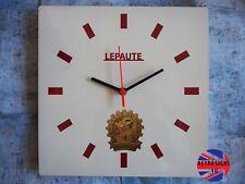 Lambretta Scooter Mod LePaute Vespa Garage, Retro Wall Clock, Gift