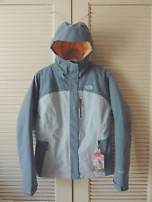 NORTH FACE COOL/ TOFINO BLUE PLASMA THERMOBALL WATERPROOF JACKET,  WOMENS M ~NWT