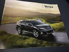 2015 Toyota VENZA 22-page Original Sales Brochure