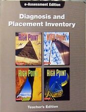 High Point Diagnosis and Placement Inventory Paperback Teacher's Ed. of Textbook