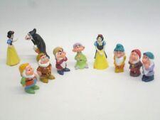 Snow White Seven Dwarfs Wicked Queen Lot Of 10 Plastic Disney Figures O4
