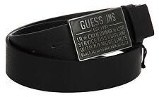 Cintura uomo pelle belt GUESS art.M52Z00 taglia M colore NERO BLACK