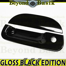 1997-2003 FORD F150 GLOSS BLACK Tailgate Handle Cover Overlay Trim with Keyhole