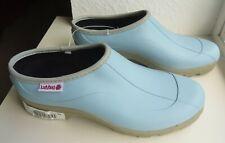 Women's Ranger Ladybug Clogs Size 9 Waterproof Garden Shoes NOS Sky Blue