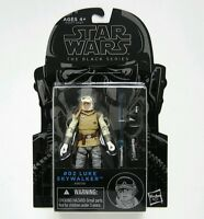 Hasbro Star Wars The Black Series Luke Skywalker 3.75 Figure #02