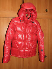 Joutsen JODIE Womens Down Jacket Parka Coat Red Size L