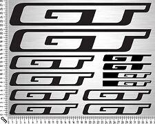 GT Bikes Set 2 | Fahrrad Rahmen Aufkleber | Bike Frame Sticker | 12 Decals