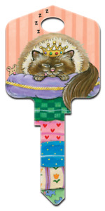 Spoiled Rotten House Key - Paws & Claws - Gary Patterson - Cats - Kittens - Keys
