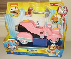 Paw Patrol The Movie LIBERTY Dog Vehicle & Figure Exclusive Brand New