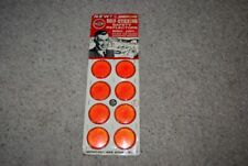 Vintage Carded Store Display Safety Reflectors, Automobile License Plate Bicycle