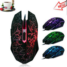2.4GHz Professional  4000DPI 6 Buttons Wired Mice  6 Keys Gaming Mouse Mice UK