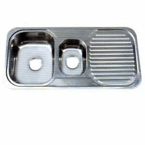 Double Bowl Sink / Single Drainer