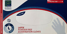LATEX POWDER FREE DISPOSABLE EXAMINATION GLOVES. PREMIER HEALTHCARE BOX 100