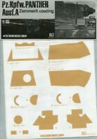 The Show Modelling 1:35 Pz.Kpfw.Panzer usf.A Zemmerit Coating Decal Sheet #063