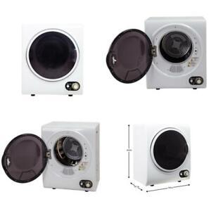 Mini Electric Clothes Dryer Compact 120 Volt 1.5 cu. Ft. RV Dorm Room Apartment