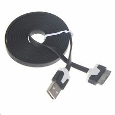 Charging Cable Charger USB Lead for Apple iPhone 4 4S 3GS iPod iPad 2m black