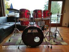 Magnum Schlagzeug Drumset plus Hardware und Becken