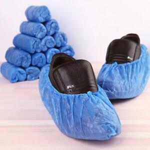 Disposable Plastic Overshoes Shoes Covers Carpet Floor Shoe Protectors 24 Pc