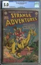 STRANGE ADVENTURES #12 CGC 5.0 CR/OW PAGES