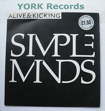"SIMPLE MINDS - Alive & Kicking - Excellent Condition 7"" Single Virgin VS 817"