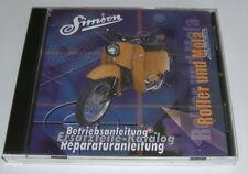 Simson Kataloge  KR 50 / KR51, SR50/80 Mofa SL1