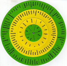 Sentence Wheel - Teaching Aid - English Easy, Fast, and Fun - FREE SHIPPING!!!