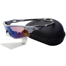 Oakley CUSTOM POLARIZED RADARLOCK PATH Matte Heather Grey Mens Sunglasses w Case