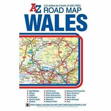 Wales Road Map by Geographers' A-Z Map Co Ltd (Sheet map, folded, 2015)