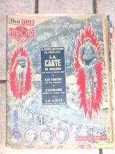 magazine but et club miroir des sports carte ancien tour de france 1952 vélo rar