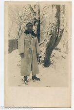 Carte-photo . Soldat Allemand . WW1 . German soldier